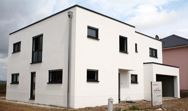 Einfamilienhaus Bauhausstil, Konz-Roscheid 2014