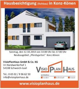 Hausbesichtigung Konz-Koenen 12 10 2014