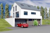Mertesdorf, Einfamilienhaus unterkellert, massiv Baubeginn 2016